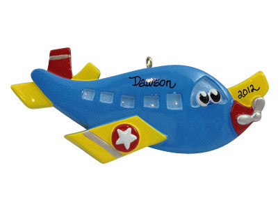 Airplane with Face - Made of Resin