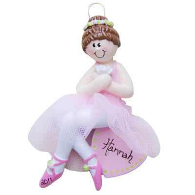 Ballerina Brunette - Made of Resin