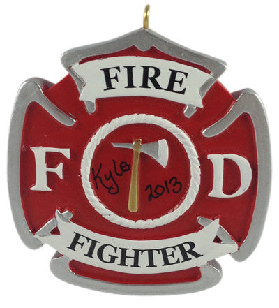 Firefighter Badge - Made of Resin