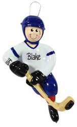 Hockey Player - Made of Resin