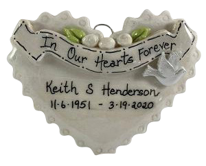 In Our Hearts Forever - Made of Bread Dough