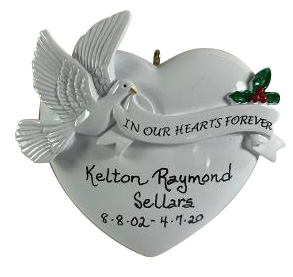 In Our Hearts Forever - Made of Resin