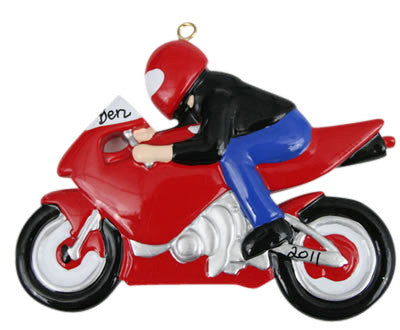 Motorcycle Rider - Made of Resin