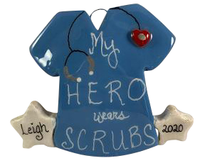 My Hero Wear Scrubs - Made of Bread Dough