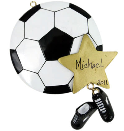 Soccer Star - Made of Resin