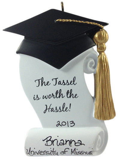 Tassle is Worth the Hassle - Made of Resin