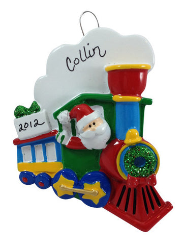 Santa Train - Made of Resin