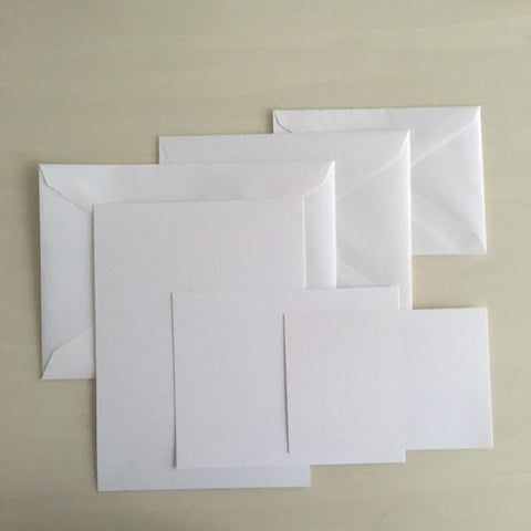WCFB- Bulk Non-Panel Cards and Folders with Envelopes - 250 count