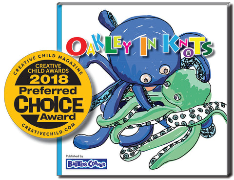 """Oakley in Knots"" Receives Two Creative Child Awards"