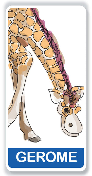Gerome the Giraffe