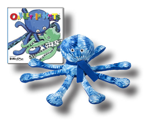 "Oakley Gift Set Includes  ""Oakley in Knots"" – Softcover Story About Respect & Melissa & Doug Plush"