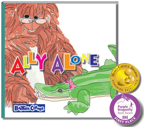 """Ally Alone"" Hard & Soft Cover - Story About Resilience"