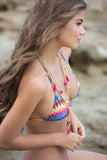 Luli Fama Tribal Beach Triangle top L45521P
