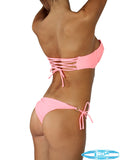 Body Glove Marilyn underwire top with back strap detail