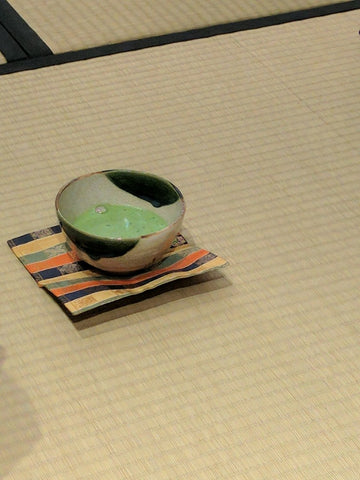 matcha cup tea ceremony