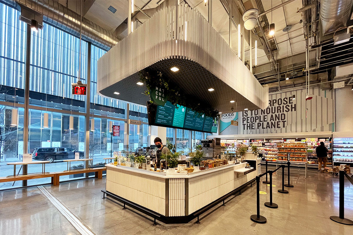 Matchaful café at Whole Foods Market in Hudson Yards