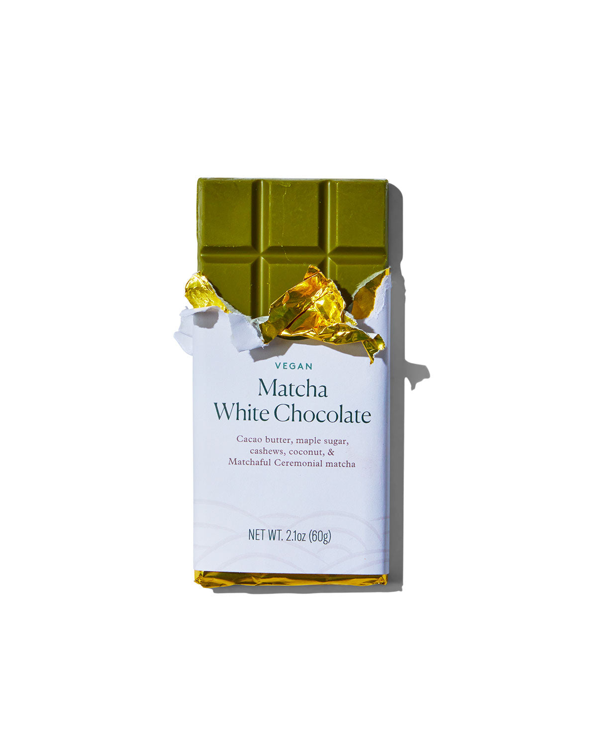 Matchaful Vegan White Chocolate Bar