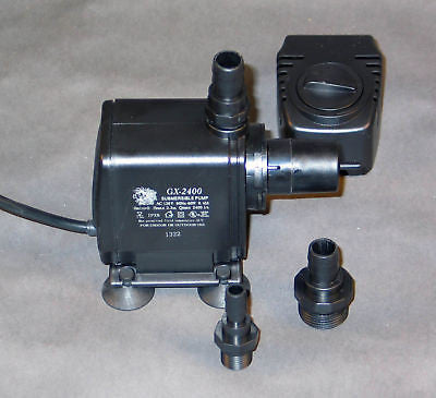 Gen-X GX 2400 Pump w/ Needle Wheel for Protein Skimmer