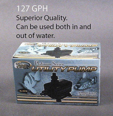 Sealine Platinum Series Utility Water Pump. SL-6510, 127 GPH