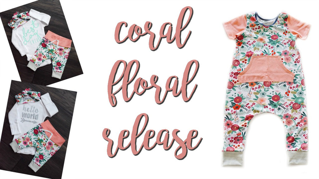 Coral Floral Release