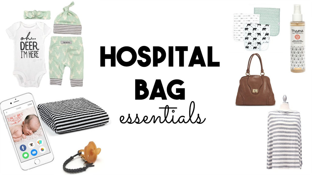 Hospital Bag Essentials + Giveaway!