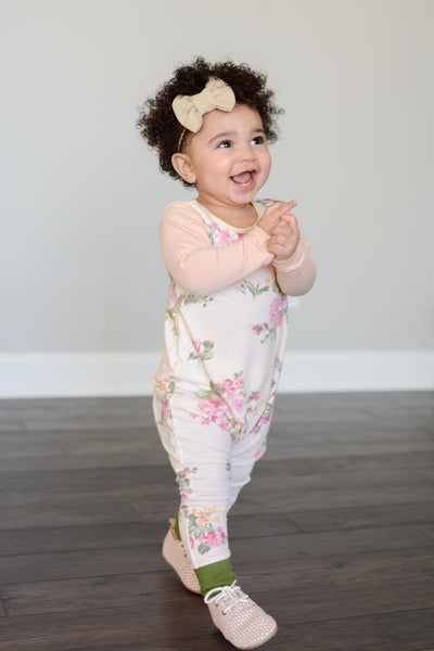 Beautiful Floral Romper from Gigi and Max!