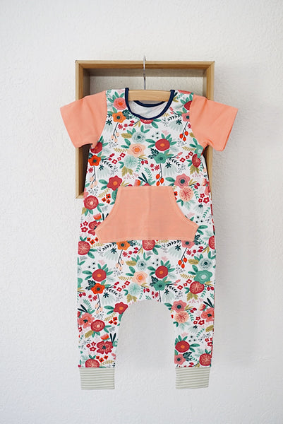 Gigi and Max adorable floral romper! This is so perfect for spring! Available February 3rd!