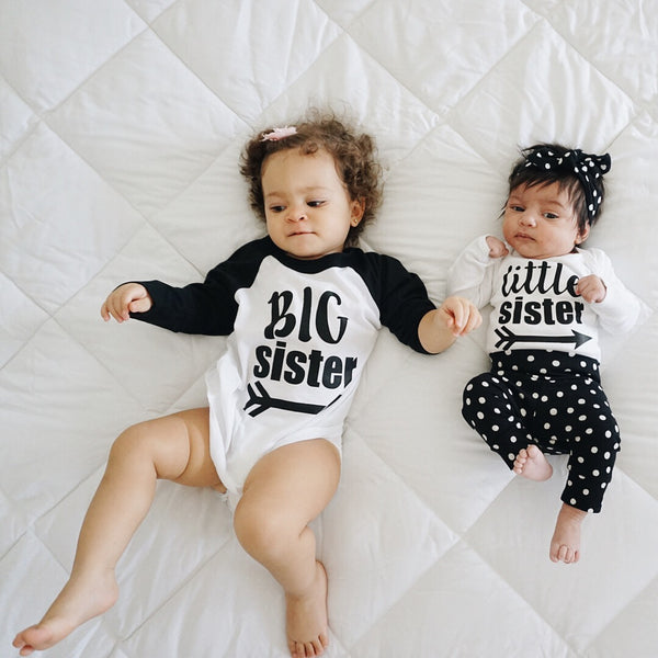 Sibling shirts from Gigi and Max! Perfect way to announce a pregnancy or celebrate a new arrival!