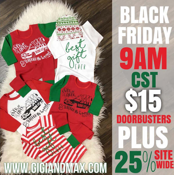 Gigi and Max Black Friday deals!!