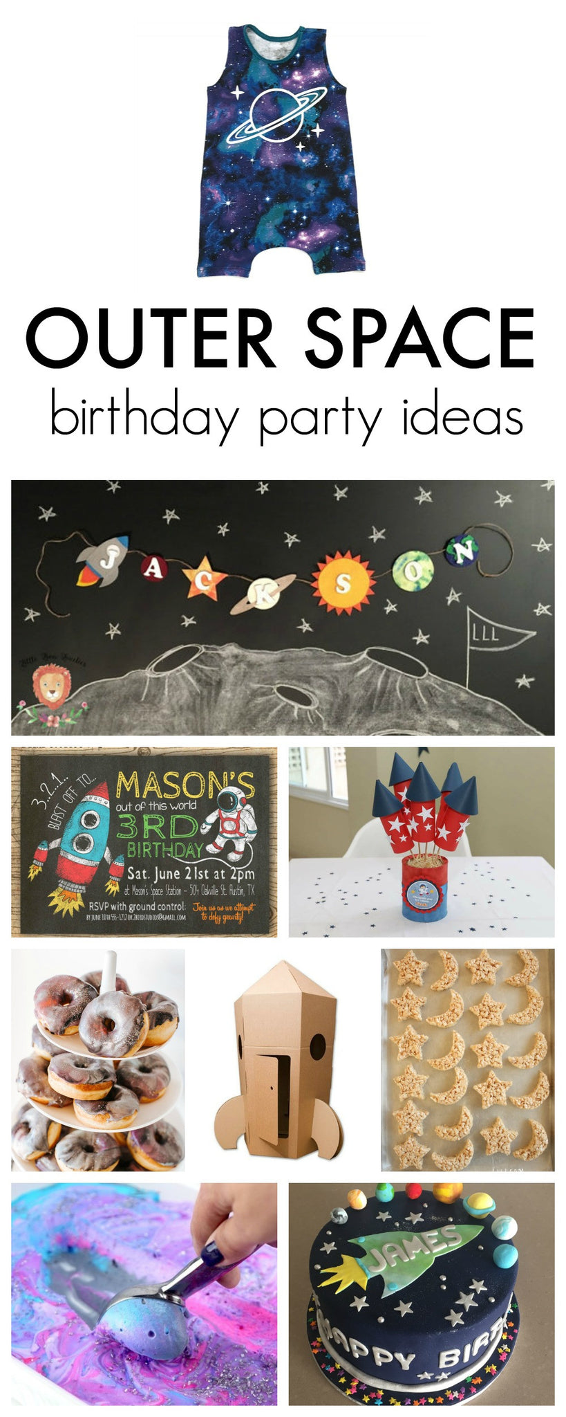 Outer Space Birthday Party Ideas Gigi And Max