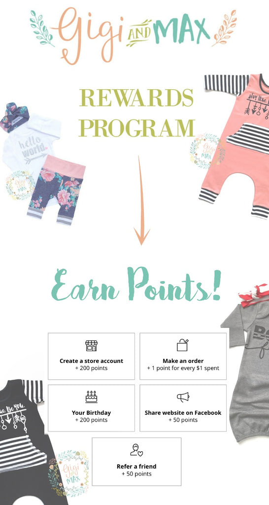 Gigi and Max Rewards program