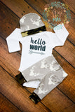 Deer and Camo Newborn Outfit - Gigi and Max