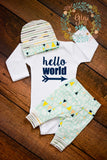 Tiny Mountains Newborn Outfit - Gigi and Max