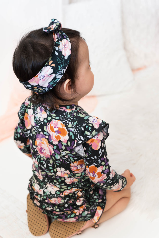 Willow Floral FLUTTER BODYSUIT 1