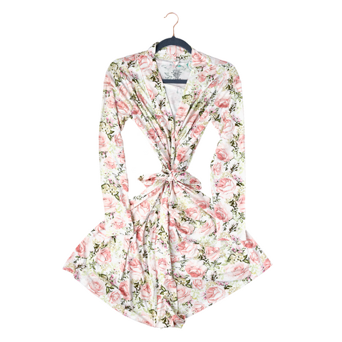 Caroline Floral Mommy Robe - Gigi and Max