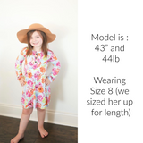 Jolie Floral Ruffle Tunic/Dress - Gigi and Max