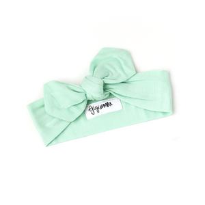 Finley Mint Topknot Headband - Gigi and Max