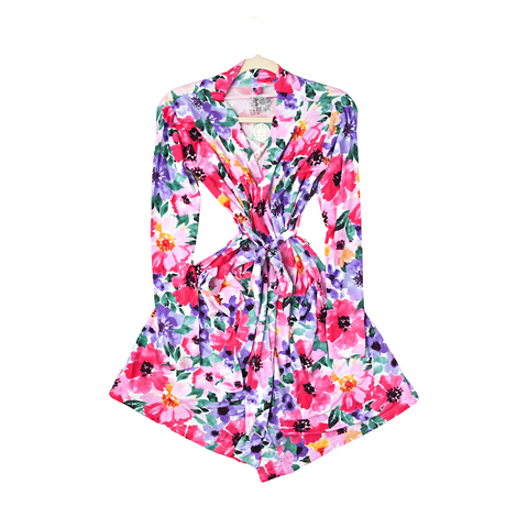 Emilia Floral Mommy Robe - Gigi and Max