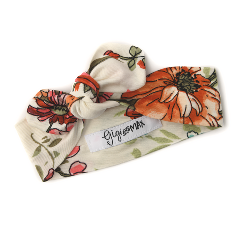 Harper Floral headband - Gigi and Max