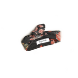 Sienna Charcoal Pink Floral headband - Gigi and Max