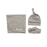 Oliver Gray Lightweight Swaddle blanket - Gigi and Max