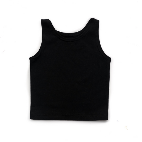 Solid Black Tank only - Gigi and Max