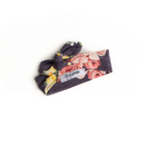 Lily Purple Yellow Floral headband - Gigi and Max