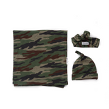 Camo Swaddle blanket - Gigi and Max
