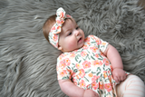 Quinn Floral headband - Gigi and Max