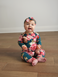 Elle Floral Two Piece Set Handmade (headband sold separately) - Gigi and Max