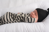 Black and Gray Ultimate baby boy Newborn going home outfit bundle - Gigi and Max
