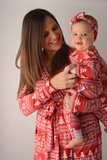 Christmas Sweater Mommy Robe - Gigi and Max