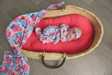 Coral Swaddle Blanket - Gigi and Max