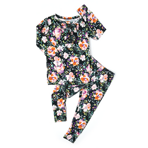 Willow Floral Ruffle Two Piece